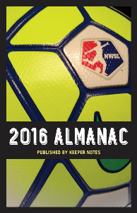 2016 nwsl almanac published by keeper notes