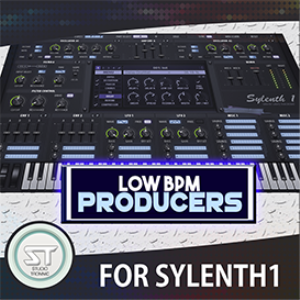 low bpm producers for sylenth1