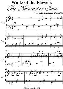 waltz of the flowers easiest piano sheet music