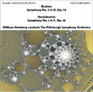 Brahms: Sym. No 2/Shostakovich: Sy. No. 1 - Pittsburgh Symphony Orchestra/William Steinberg | Music | Classical