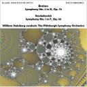 Brahms: Sym. No 2/Shostakovich: Sy. No. 1 - Pittsburgh Symphony Orchestra/William Steinberg   Music   Classical
