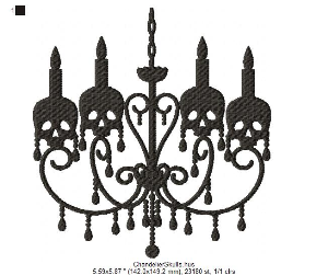 Chandelier Skulls | Software | Design