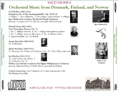 First Additional product image for - Orchestral Music from Denmark, Finland, and Norway