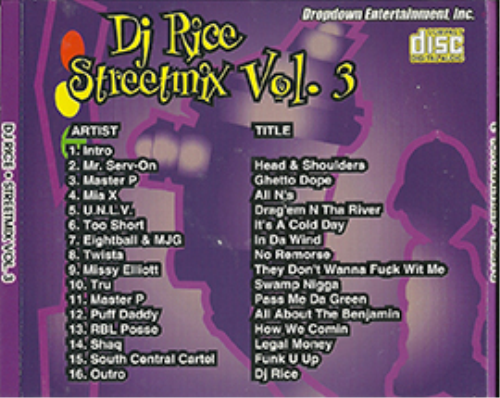 First Additional product image for - Dj-Rice-Streetmix-Vol.#3