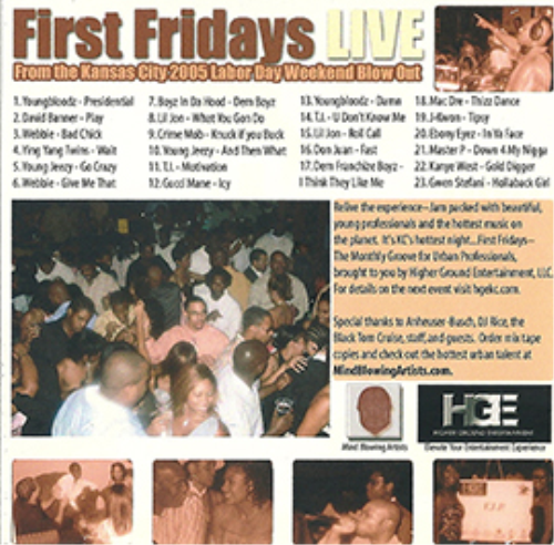 """First Additional product image for - DJ-RICE-""""FIRST FRIDAYS LIVE""""-THE MIXTAPE"""
