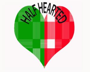 half-hearted 3