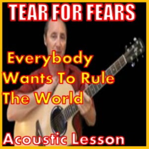 Learn to play Everybody Wants To Rule The World by Tears For Fears | Movies and Videos | Educational