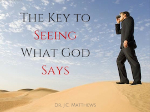 Second Additional product image for - The Key to Seeing What God Says Pt.1