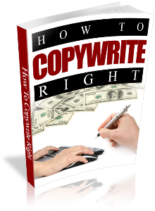 How To Copywrite Right | eBooks | Other