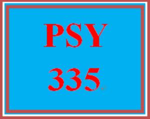 PSY 335 Week 4 Experimental Designs Worksheet | eBooks | Education