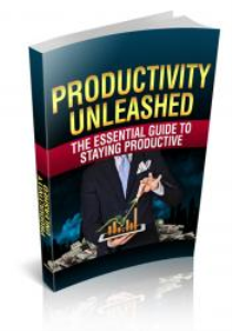 productivity unleashed - be motivated and know exactly how to stay productive