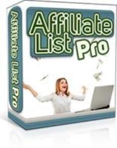 affiliate list pro software