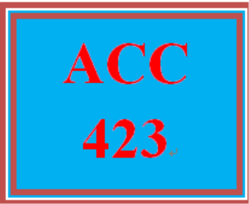 First Additional product image for - ACC 423 Week 5 Textbook Assignment
