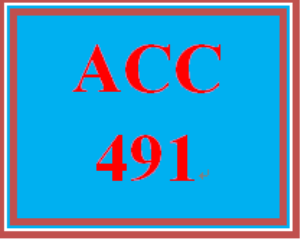 ACC 491 Week 2 Auditing, Attestation, and Assurance Services Paper | eBooks | Education