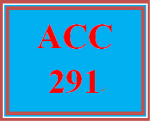 ACC 291 Week 3 WileyPLUS Assignment | eBooks | Education