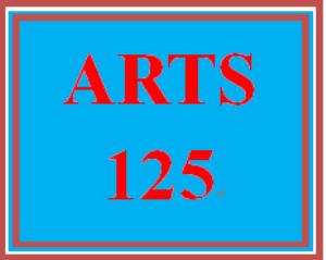ARTS 125 Week 5 How Does Art Shape Culture? | eBooks | Education