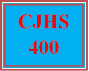 CJHS 400 Week 2 Behavioral Interventions Presentation | eBooks | Education