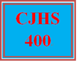CJHS 400 Week 3 Cognitive Theory: Behavior Plan | eBooks | Education