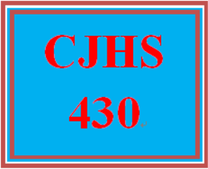 CJHS430 Week 5 Parole for the Elderly | eBooks | Education