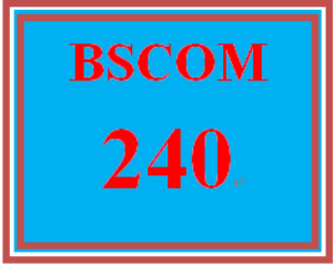 BSCOM 240 Week 4 Article Summary | eBooks | Education