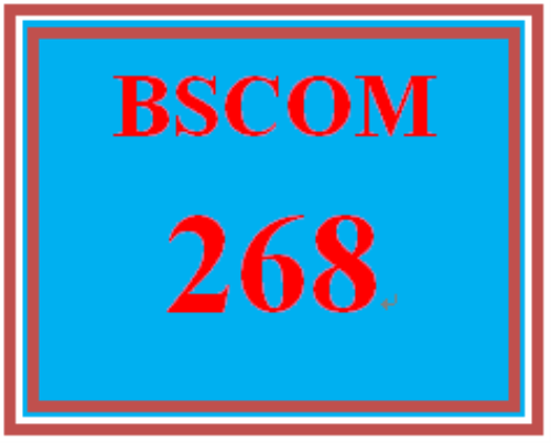 First Additional product image for - BSCOM 268 Week 2 Annotated Reference List