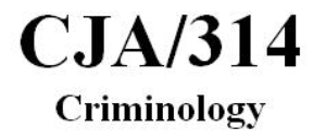 CJA 314 Week 3 Individual Paper – Examining Theory Paper | eBooks | Education