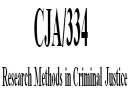 CJA 334 Entire Course | eBooks | Education