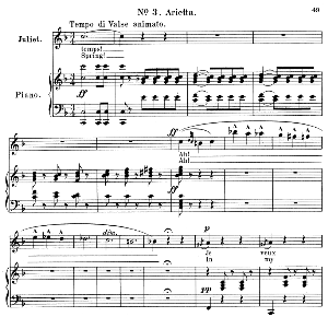 Je veux vivre dans le rêve. Arietta for Soprano (Juliet). Ch. Gounod: Romeo and Juliet,  Act I, No. 3. Vocal Score, Ed. Schirmer (1897). French/English | eBooks | Sheet Music