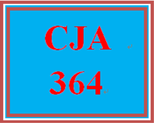 CJA 364 Week 1 Individual Paper – Criminal Procedure Policy | eBooks | Education