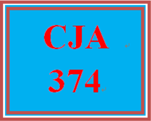First Additional product image for - CJA 374 Week 5 Future of the Juvenile Justice System Proposal and Presentation