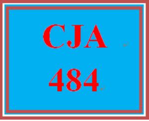 CJA484 Week 4 Criminal Law Foundations Evaluation | eBooks | Education