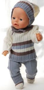 DollKnittingPatterns 0149D SOPHIA - Pullover, Mütze, Hose und Socken-(Deutsch) | Crafting | Knitting | Other