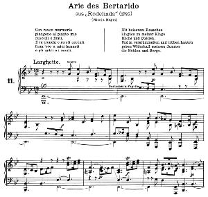 con rauco mormorio: contralto aria (irene) in e-flat major (original key). g.f.haendel. rodelinda hwv 19, vocal score, ed. peters, gesange für eine frauenstimme, ed. h. roth (1915). 4pp. italian(a4 portrait)