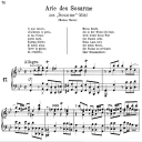 Il mio valore: Contralto Aria (Sosarme) in D Major (original key). G.F.Haendel. Alessandro HWV 24, Vocal Score, Ed. Peters, Gesange für eine frauenstimme, Ed. H. Roth (1915). 4pp. Italian. (A4 portrait). | eBooks | Sheet Music