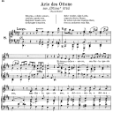 Ritorna, o dolce amore: Contralto Aria (Ottone) in D Major (original key). G.F.Haendel. Ottone HWV 15, Vocal Score, Ed. Peters, Gesange für eine frauenstimme, Ed. H. Roth (1915). 2pp. Italian. (A4 portrait) | eBooks | Sheet Music