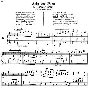 senza procelle ancora: contralto aria (poro) in f major (original key). g.f.haendel. poro hwv 28, vocal score, ed. peters, gesange für eine frauenstimme, ed. h. roth (1915). 6pp. italian. (a4 portrait)