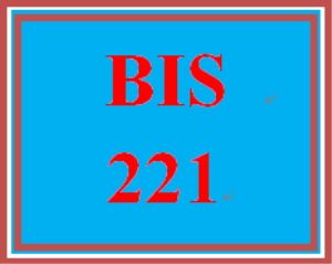 BIS 221 Week 4 My Story | eBooks | Education