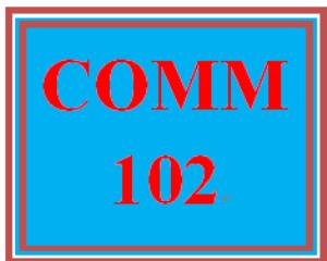 COMM 102 Week 1 Communication Basics | eBooks | Education