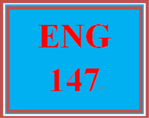 ENG 147 Entire Course | eBooks | Education