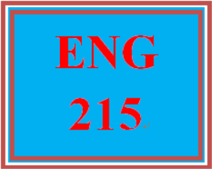 ENG 215 Entire Course | eBooks | Education