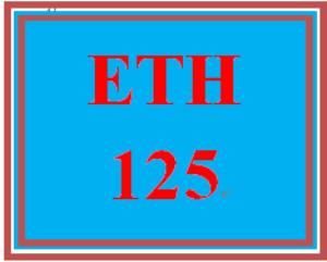 ETH 125 Week 7 Diversity Organizations Worksheet and Paper   eBooks   Education
