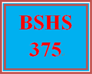 BSHS 375 Week 5 Database – Graphs | eBooks | Education