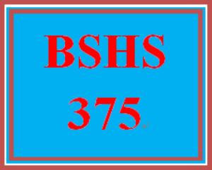 BSHS 375 Week 5 Muddiest Points Formative Assessment   eBooks   Education