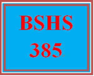 BSHS 385 Week 5 Emotionally Focused Couples Paper | eBooks | Education