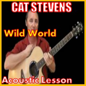 Learn to play Wild World by Cat Stevens | Movies and Videos | Educational