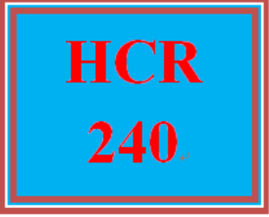 HCR 240 Week 2 HIPAA and Information Technology | eBooks | Education