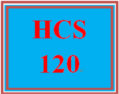 Fifth Additional product image for - HCS 120 Entire Course