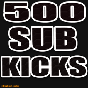 500 sub kicks samples trap techno hip hop electro edm 808 drums