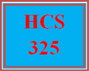 HCS 325 Week 2 Case Study | eBooks | Education