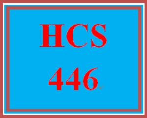 HCS 446 Week 2 Environmental Impact Outline | eBooks | Education
